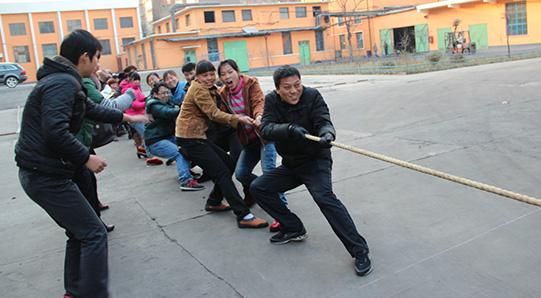 2014年飞鹤元旦活动之拔河比赛